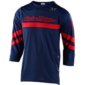 Troy Lee Designs Ruckus Factory Camo 3/4 Jersey, navy/red